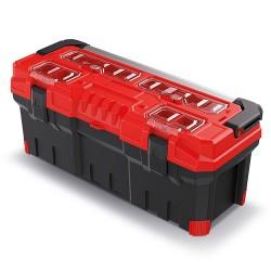 Kufor na náradie TITAN PLUS červený 752x300x304mm