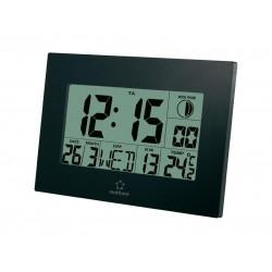 Digitálne nástenné DCF hodiny RENKFORCE E0311R čierne
