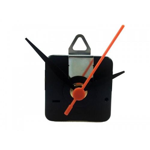 Hodinový strojček s 3 ručičkami (čierne) - plynulý chod
