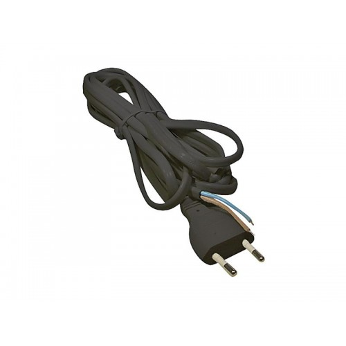 Flexo šnúra PVC 2x0,75mm 2m čierna