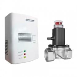 Detektor plynu AVANSA 100M LPG a zemný plyn + solenoidový ventil