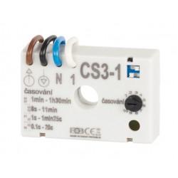 Časový spínač CS3-1 pre ventilátory