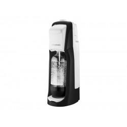 Jet Black&White výrobník perlivej vody SODA