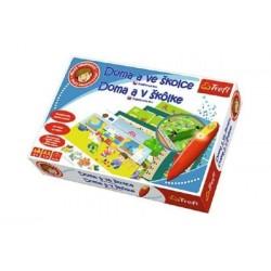 Hra vzdelávacia TREFL Malý objaviteľ doma a v škôlke + kúzelná ceruzka