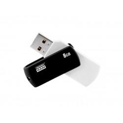 Flash disk GOODRAM USB 2.0 8GB bieločierná