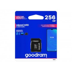Karta pamäťová GOODRAM microSD 256GB s adaptérom