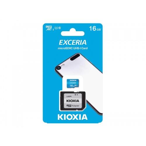 Pamäťová karta KIOXIA micro SD 16 GB s adaptérom