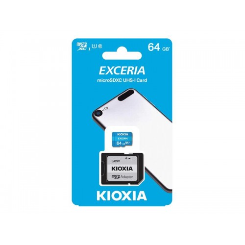 Karta pamäťová KIOXIA micro SD 64 GB s adaptérom