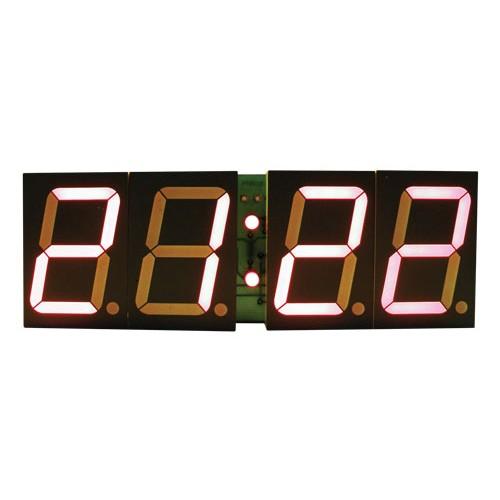 Stavebnica PT011B CMOS digitálne hodiny s 45mm červeným LED displejom