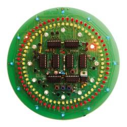 Stavebnica PT036 CMOS kruhové hodiny