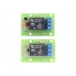 Stavebnica PT066A Relé doska so spínacím tranzistorom a LED