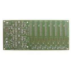 Plošný spoj PT041 Audio spectrum analyzer