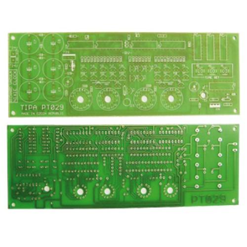 Plošný spoj PT029 Digitronové hodiny