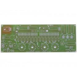 Plošný spoj PT029B Digitrónové hodiny