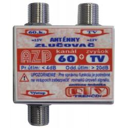 Anténny zlučovač AZP60+TV F-F
