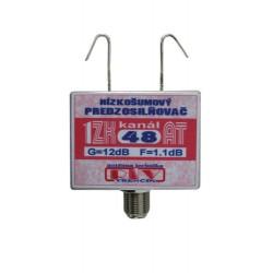 Anténny zosilňovač 1ZK48AT 12dB F Dopredaj