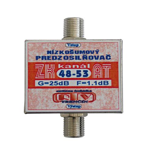 Antenný zosilňovač ZK48-53AT F-F DOPREDAJ