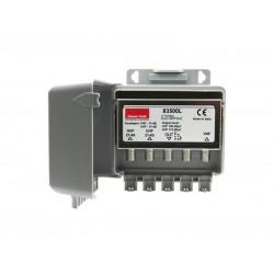 Predzosilňovač anténny Emme Esse 83500L, na stožiar, LTE, +10dB, 1xVHF, 2xUHF