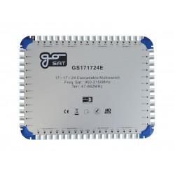 Satelitný multiprepínač GoSAT GS171724E