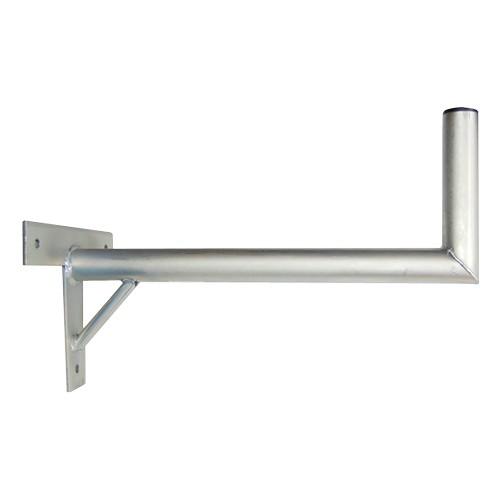 Držiak antén na stenu 50 s krížom a podperou priemer 42mm žiar.