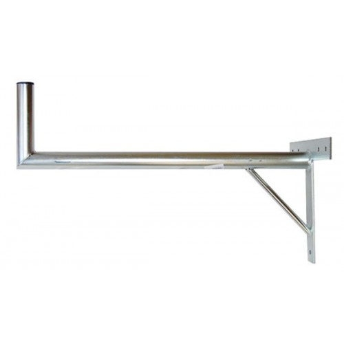 Držiak antén na stenu s krížom a podperou priemer 42mm